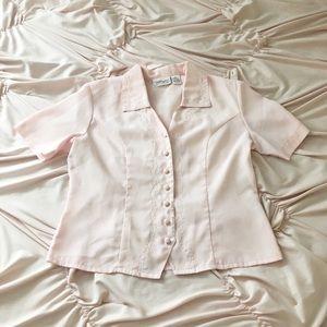 Vintage 🍓☁️ Baby Pink Top ♡